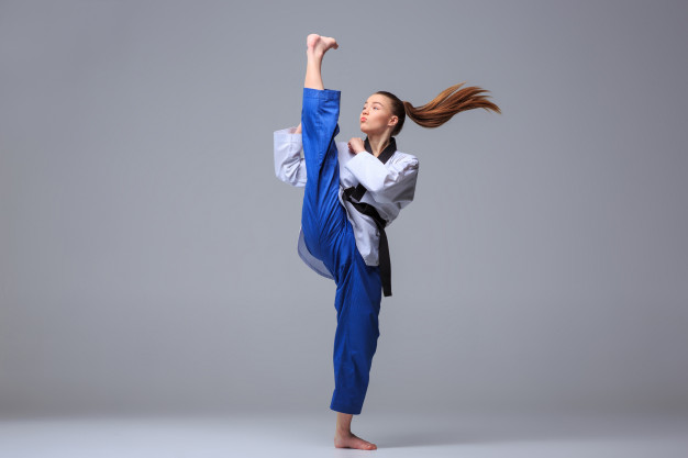 karate girl with black belt 155003 610